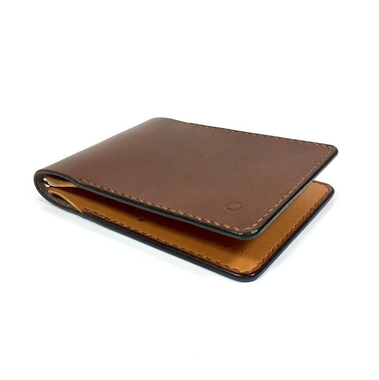 Peněženka Clip / Brown/Cognac