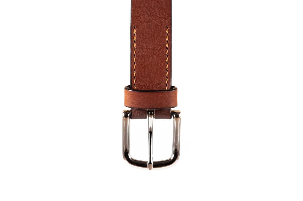 NARROW belt (30mm) / Brown
