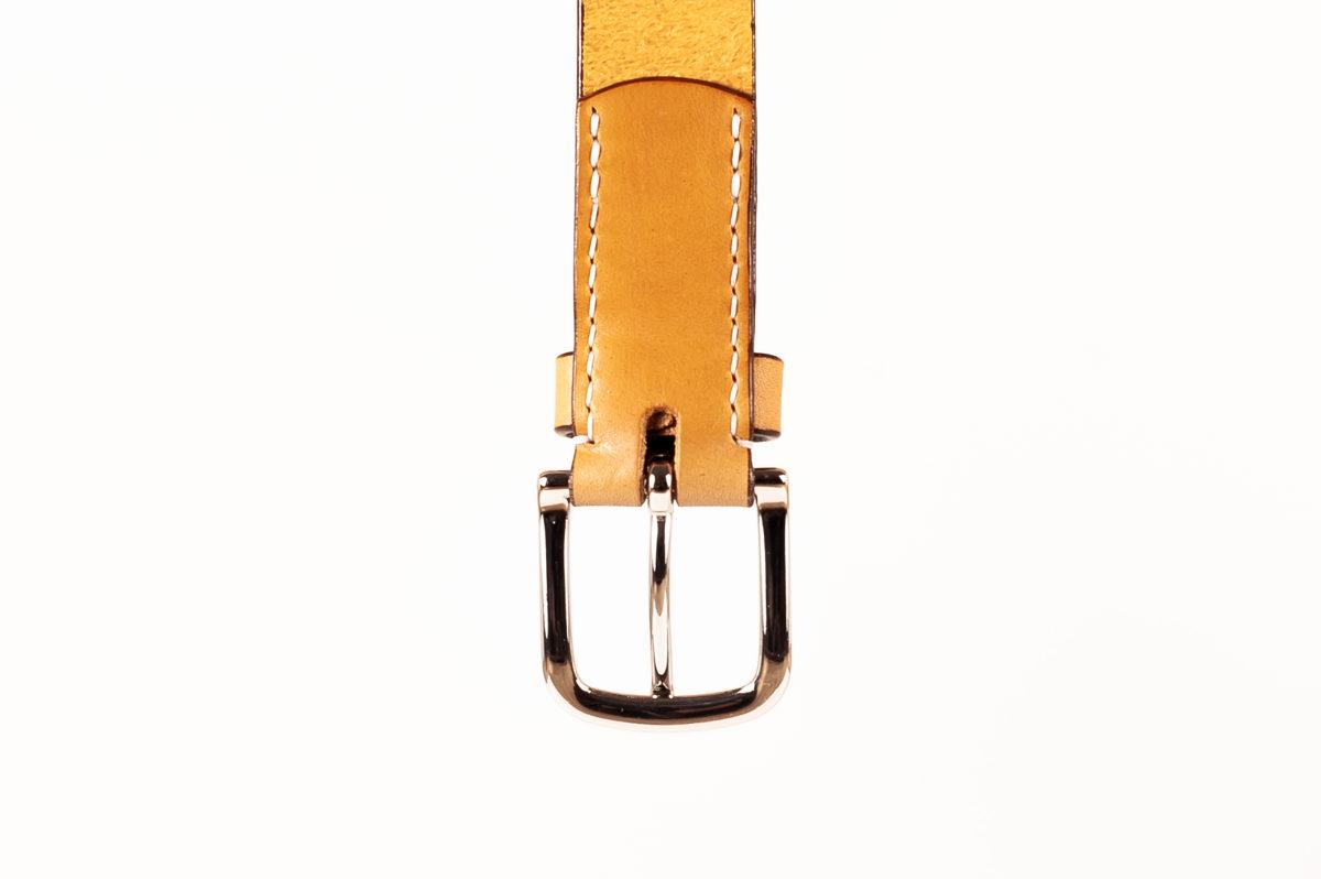 NARROW belt (30mm) / Cognac
