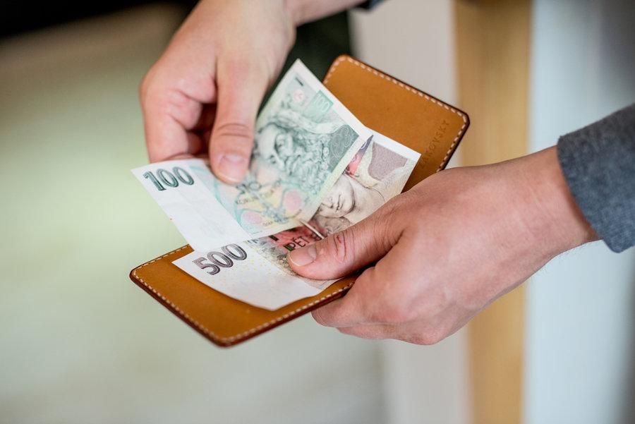 Peněženka Clip / Natural
