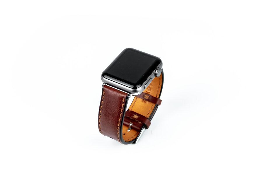 Kožený řemínek / Apple Watch / Brown